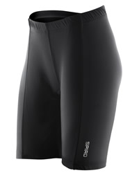 Spiro Womens Padded Bike Shorts