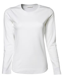 Jays Lady Long Sleeve Interlock T-shirt