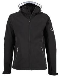 Jays Men Hood Fashion Softshell Jacket
