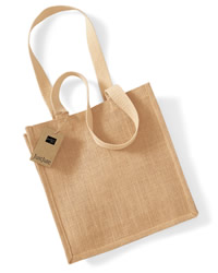 W Mill Jute Compact Tote