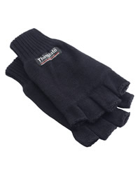 Yoko 3m Thinsulate Half Finger Gloves