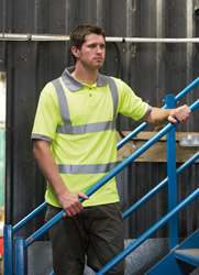 Dickies Hi-Vis Safety Polo Shirt