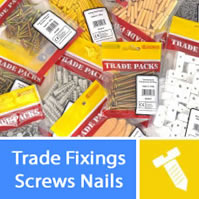 bulk trade screw and fixing packs